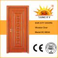 Buenas ventas Puertas de sala de madera con interior único (SC-W044)