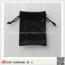 Black Suede Jewelry Pouch (DH-MC0581)