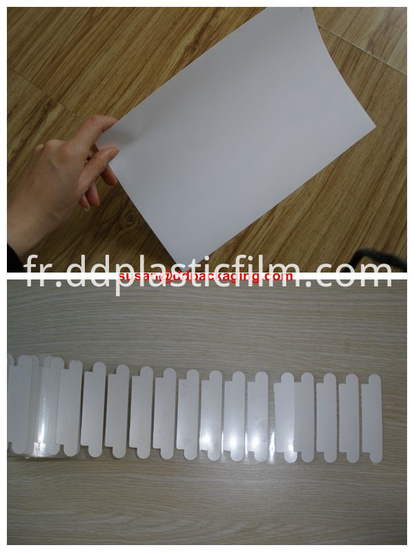 heat resistance 75mic white pet film 01