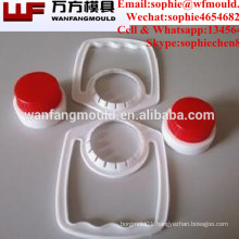 OEM custom oil bottle cap and handle mould with High quality motor oil cap and handle mold making