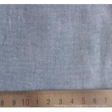 100 % Baumwolle gekämmt Spinning Chambray Shirt Stoff