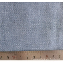 100% Cotton Combed Spinning Chambray Shirt Fabric