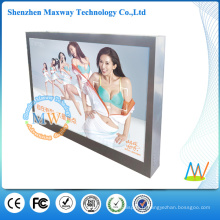 Moniteur imperméable d'écran tactile d'ip65 de 46 pouces d'affichage extérieur avec la haute luminosité 2000 lentes