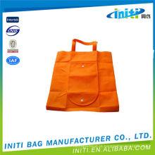 Dobrável utilitário de tamanho grande personalizado sacos de compras dobráveis