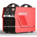 Portable inversor tipo DC argón máquina de soldadura de arco MMA400