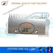 4090160000 JFThyssen Velino Escalera Placa Comb (Dos Agujeros, 822 W / Labio) Escalera Placa Comb