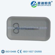 Bandeja de papel de esterilización desechable de suministro de China