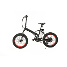 Bicicleta elétrica com acionamento por corrente de motor de alta velocidade 25km / h