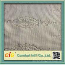 2016 moderne matelas Polyester tissu