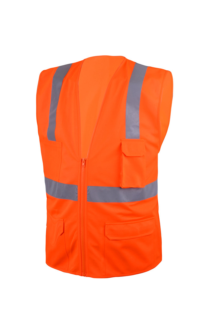 100% Cotton cheap green security safety vest