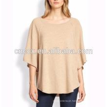 15PKCSP018 85% algodão 15% cashmere primavera verão sutumn senhora poncho