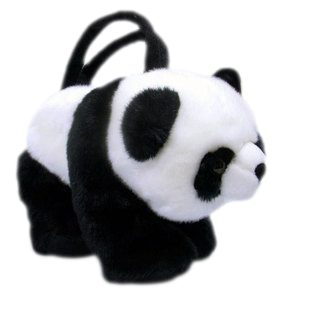 cartoon panda money bag