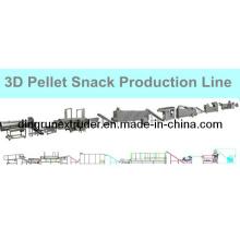 3D Corn Snack Pellet Extruder Line (DLG)