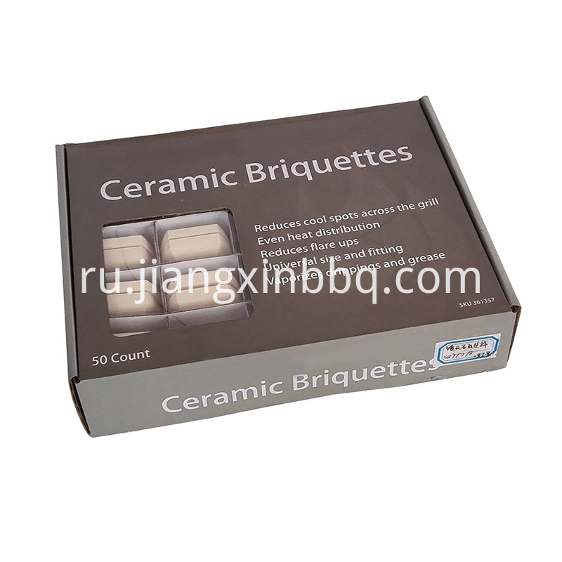 50 Count Ceramic Briquettes Box