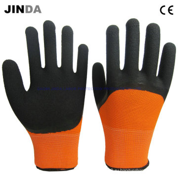 Механические рабочие перчатки с латексным покрытием (LH307)