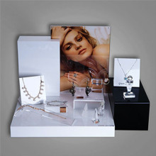 Klare Acryl Schmuck-Display, Schmuck-Display-Set