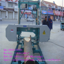 Factory Supply Portable Lumber Band Sawmill Machine