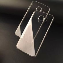 0.5mm Thin Clear TPU Cell Phone Case for Samsung S6