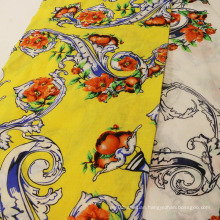 Fashion Print Pure Ramie Fabrics for Garment