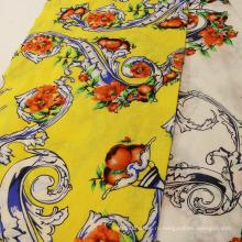 Модная печать Чистые ткани Рами для одежды