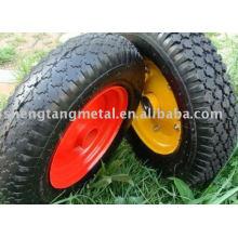 roda de borracha de alta qualidade 4.00-8