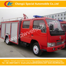 4*2 Dongfeng 5ton Water Foam Fire Sprinkler / Fire Fighting Truck
