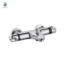 KWM-05 luxo novo produto termostático latão acessórios de banheiro misturador quarto de hotel torneira de cerâmica válvula de chuveiro na parede torneira