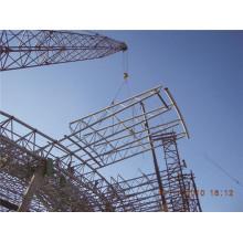 Estructura de acero prefabricada del armazón del tubo del edificio de acero de Warehouse