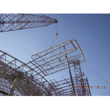 Structure en acier légère et structure de botte de tube entrepôt d'usine et usine