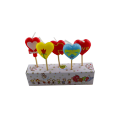 Happy Birthday Candle Love Heart Design Party Decor