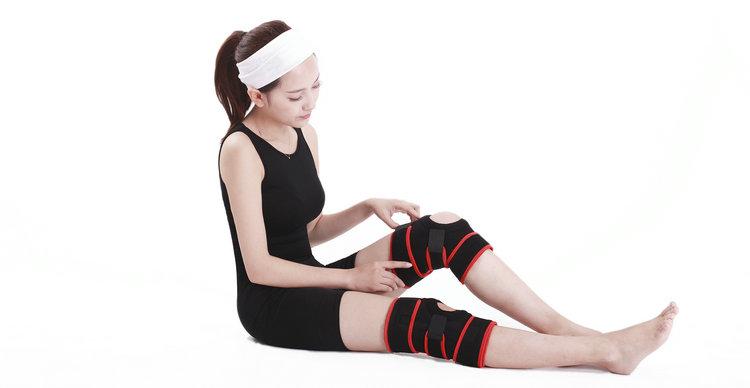 adjustable knee brace