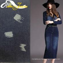 Programas de diseño textil tejido tweed para pantalones cortos de mezclilla