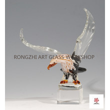 Eagle Wings Glass Animal
