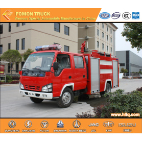 Isuzu 4x2 100P Water Fire Engine