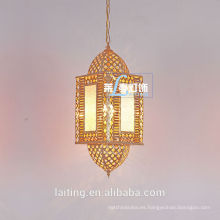 Iluminación colgante hecha a mano al por mayor marroquí en China