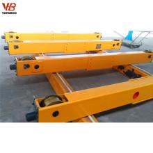 Tipo aberto transporte do pinhão do guindaste aéreo da extremidade para o único guindaste de EOT da viga