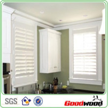 89mm 114mm Real Basswood Shutters Quality Shutters (SGD-S-5656)