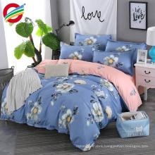cheap 3d reactive printed home textile bed sheet bedding set