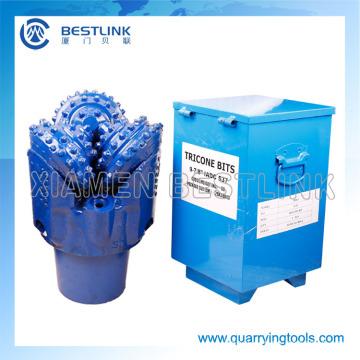 IADC637 Roca Tricone bits o granito y aceite de la perforación del pozo