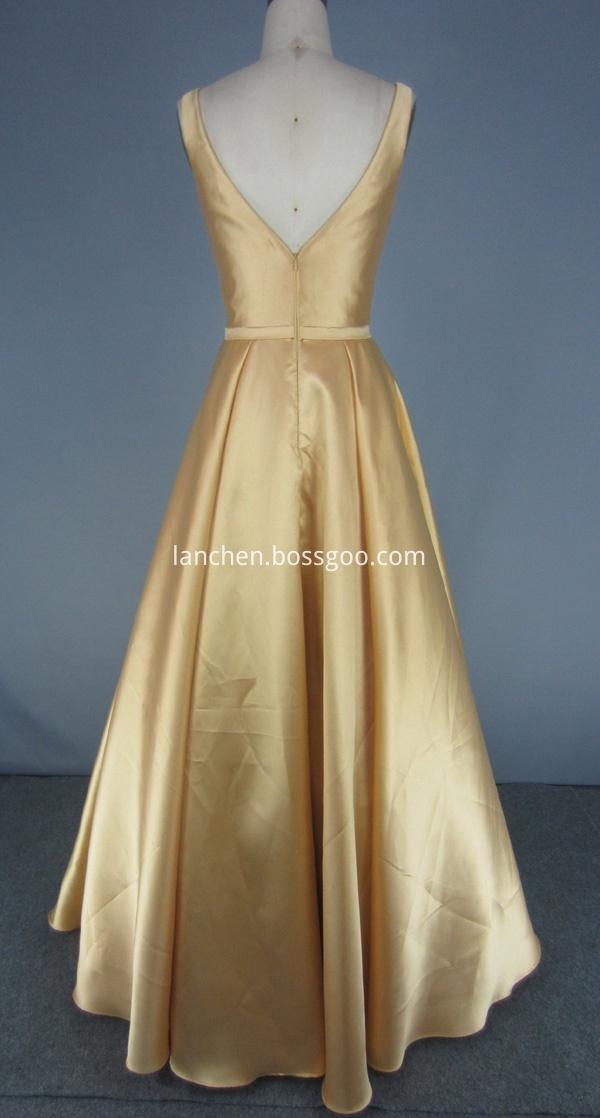 ball gown long dress