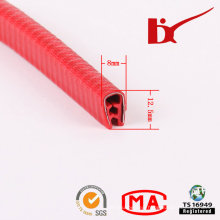 Durable Plastic Profile PVC Weather Strips with Teeth