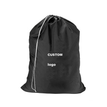 Wholesale waterproof hot sale dry cleaning nylon hotel laundry bag polyester drawstring laundry bags