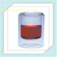 Borosilikat Doppelwand Glas Tasse Becher