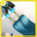 Cortinas diseños rayón material cortina borla decoración tieback para textiles para el hogar