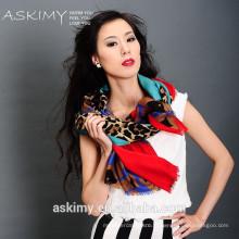 Cachecol cachemira de lã nova estilo design moda