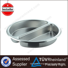 Catering Equipment Commercial Compartment Stainless Steel Round Tray