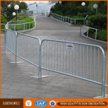 1.1X2.1m Crowd Control Barrier Galvanized Mobile Security Barrier