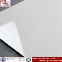 Azulejo de piso de porcelana baja antideslizante 24x24 super blanco