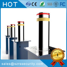 Retractable Road Block Barriers Automatisk Rising Bollards