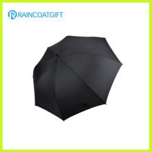 Parasol de golf de viaje de poliéster de alta calidad de color azul